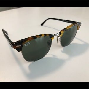 Official RayBan Clubmasters Great Condition!
